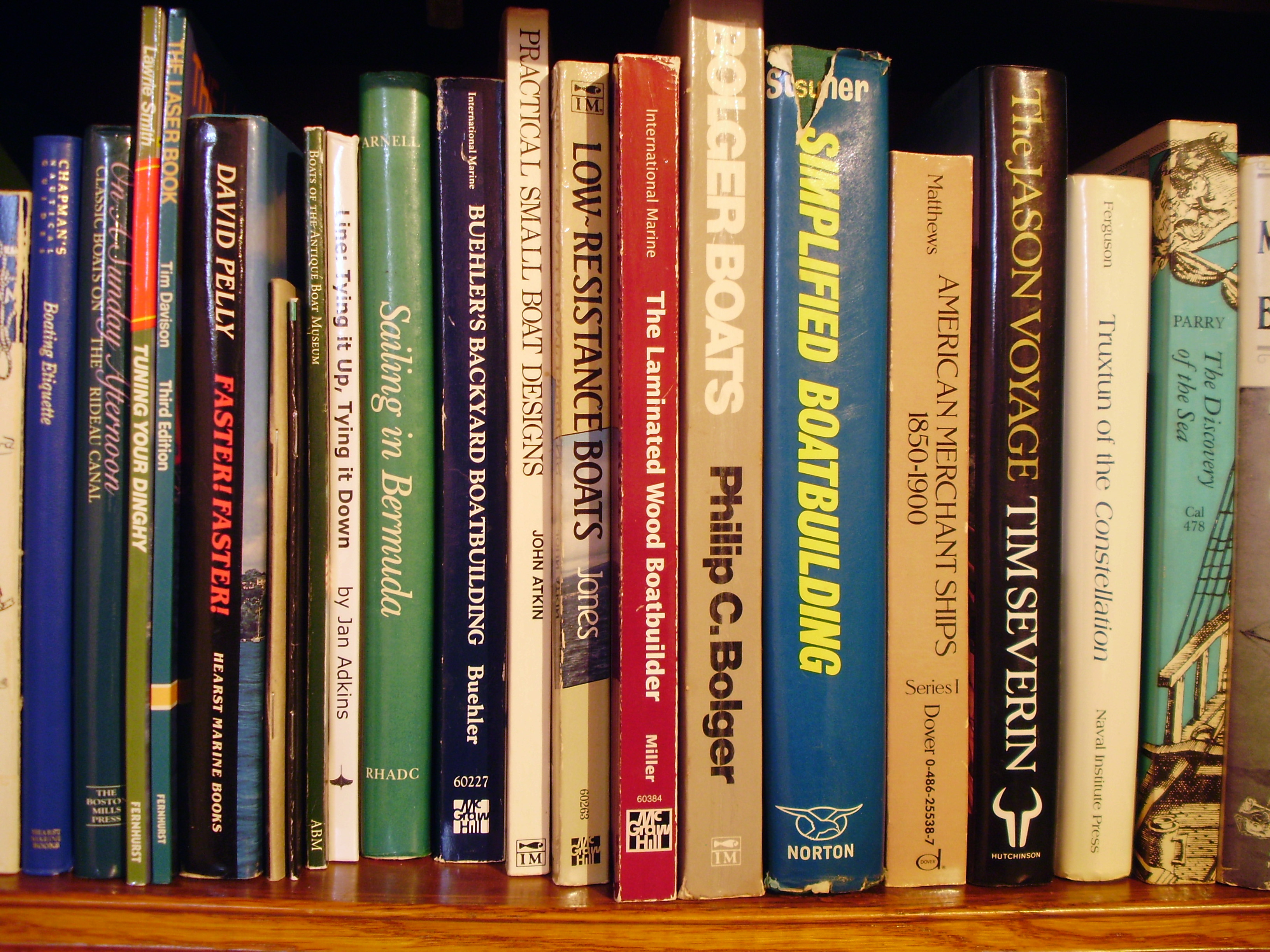 boat bookshelf instructions