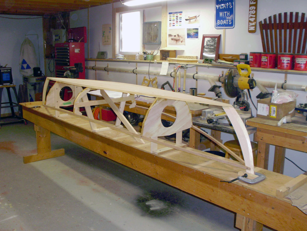 canoe building | Playing With Boats