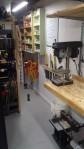 drill press and wallshelves